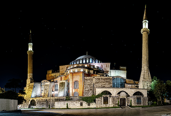 Hagia Sophia 11 by Weston Westmoreland