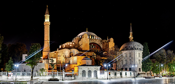Hagia Sophia 12 by Weston Westmoreland